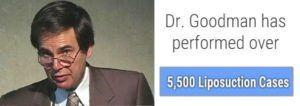 Dr. Goodman 5,500 Liposuction cases image